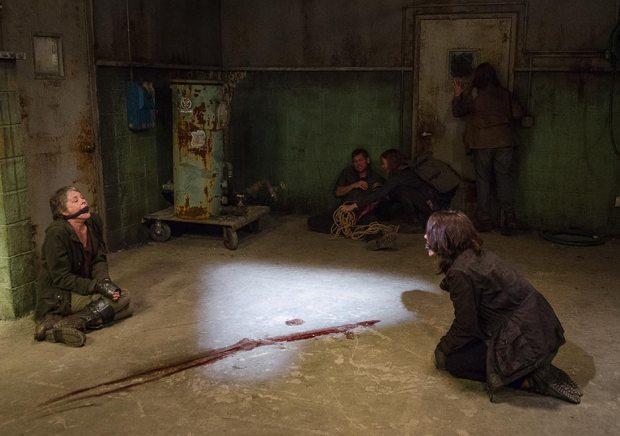 TWD 613 Carol Maggie Captive