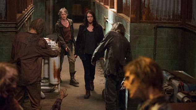 TWD 613 Zombie Hallway