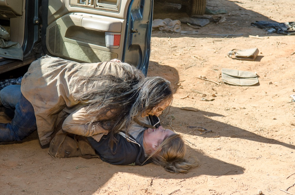 TWD 614 Denise Fights