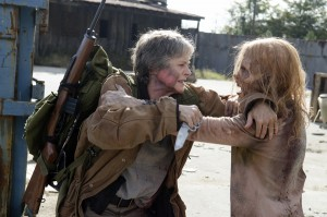 Melissa McBride as Carol Peletier; Walker - The Walking Dead _ Season 6, Episode 16 - Photo Credit: Gene Page/AMC