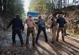 TWD 616 Roadblock